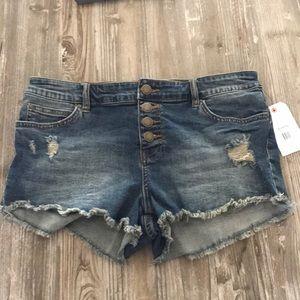 New with tags billabong jean shorts